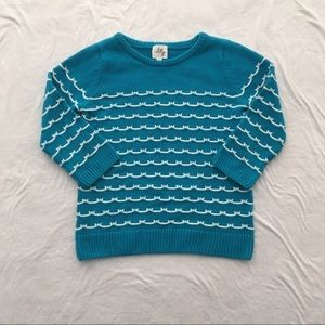 Milly Minis Sailor Stitch Sweater